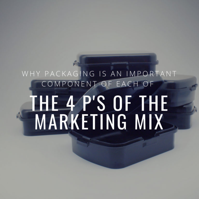 Why Packaging is An Important Component of Each of the 4 P's of the Marketing Mix