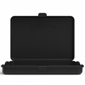 Crativ slim case black color